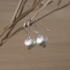 Елегантни сребърни обеци Камбанка