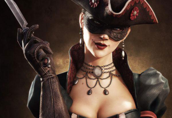 Обеците винаги са част от пиратското облекло